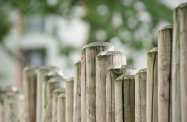 Wooden fencing installed by My Landscaping Edmonton.