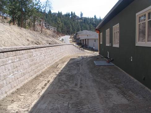 Our latest retainig wall project to construct retaining wall Diaphragm retaining wall
