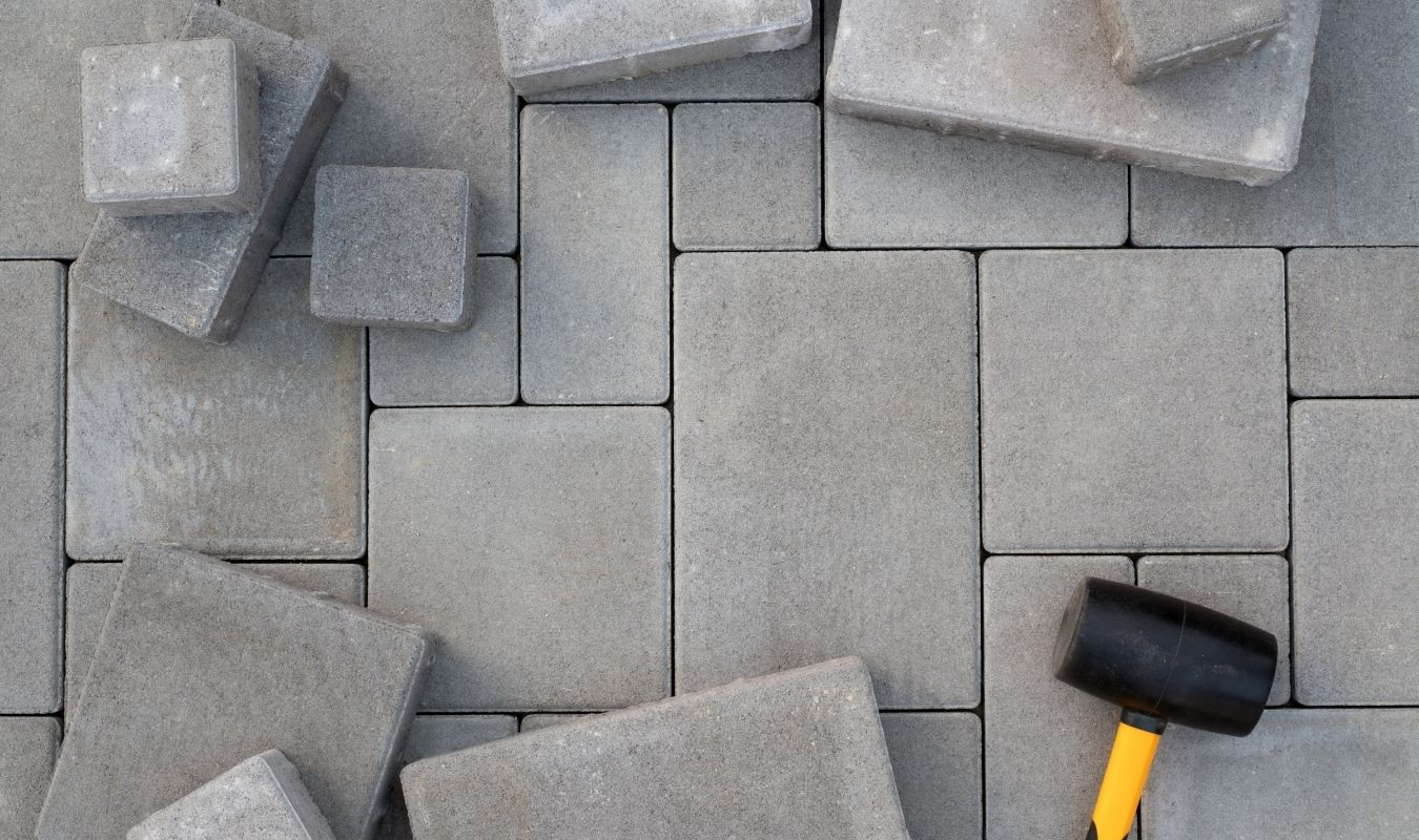 Paving stone installation service in Edmonton