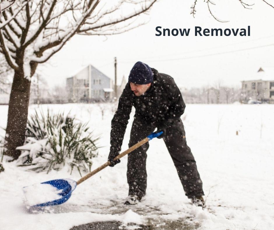 Snow removal in Edmonton
